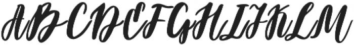 Darflow otf (400) Font UPPERCASE