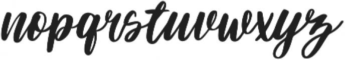 Darflow otf (400) Font LOWERCASE