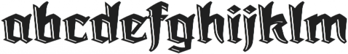 Dark Angel Underlight otf (300) Font LOWERCASE