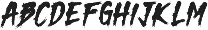 Dark Monk otf (400) Font UPPERCASE