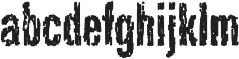 Dark Night AOE Regular otf (400) Font LOWERCASE