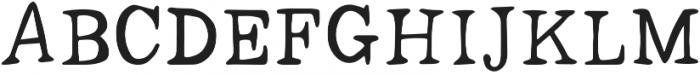 Dark Seas Regular otf (400) Font UPPERCASE