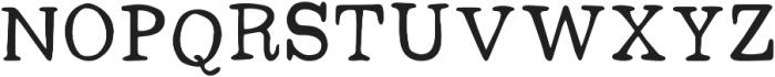 Dark Seas Regular ttf (400) Font UPPERCASE