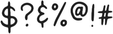 Dark Seas Sans ttf (400) Font OTHER CHARS
