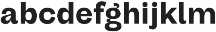 Darker Grotesque Extrabold otf (700) Font LOWERCASE