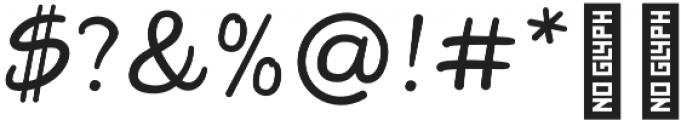 Darla Script otf (400) Font OTHER CHARS