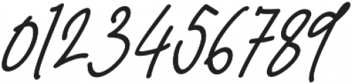 Darling Suttine Slant otf (400) Font OTHER CHARS