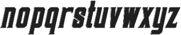 Darmond Shadow Oblique otf (400) Font LOWERCASE