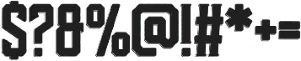 Darmond otf (400) Font OTHER CHARS