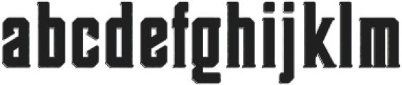 Darmond otf (400) Font LOWERCASE