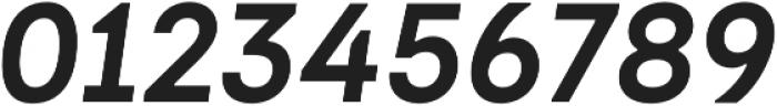 Dart 4F Medium Italic otf (500) Font OTHER CHARS