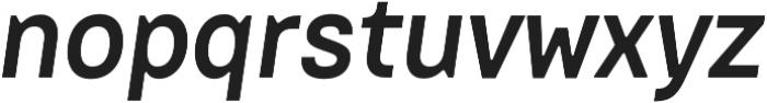 Dart 4F Medium Italic otf (500) Font LOWERCASE
