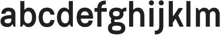 Dart 4F Medium otf (500) Font LOWERCASE