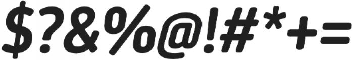 Darwin Ess Rd SemiBold It otf (600) Font OTHER CHARS