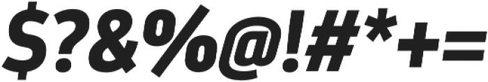 Darwin Pro Bold It otf (700) Font OTHER CHARS