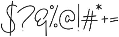 Dashwood Script otf (400) Font OTHER CHARS