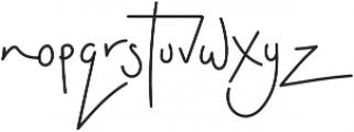 Dashwood Script otf (400) Font LOWERCASE