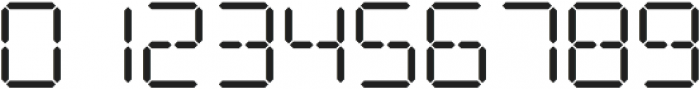 Date Stamp Alt otf (400) Font OTHER CHARS