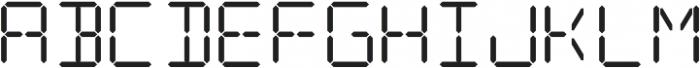 Date Stamp Alt otf (400) Font UPPERCASE