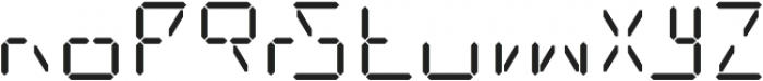 Date Stamp otf (400) Font LOWERCASE