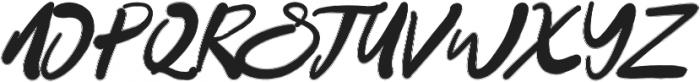 Datto otf (400) Font UPPERCASE