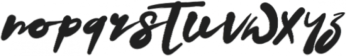 Datto otf (400) Font LOWERCASE