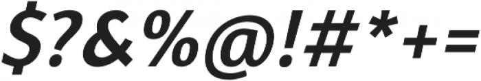 Davidan Italic otf (400) Font OTHER CHARS