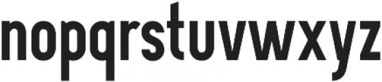 Davish Bold otf (700) Font LOWERCASE
