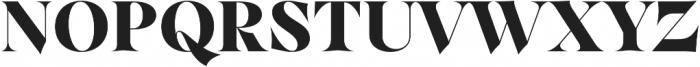 Dawnora Headline otf (700) Font UPPERCASE