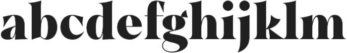 Dawnora Headline otf (700) Font LOWERCASE
