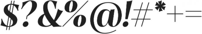 Dawnora Semibold Italic otf (600) Font OTHER CHARS