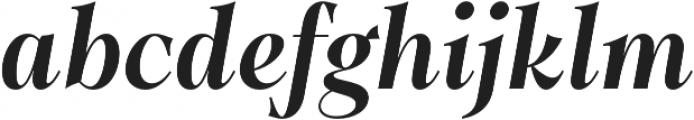 Dawnora Semibold Italic otf (600) Font LOWERCASE