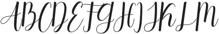 Daydream Regular ttf (400) Font UPPERCASE
