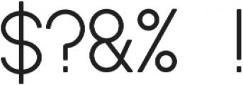 Daze Regular otf (400) Font OTHER CHARS