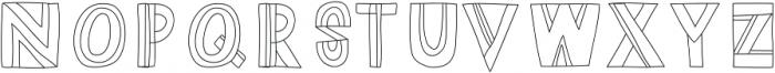 Dazey otf (400) Font UPPERCASE