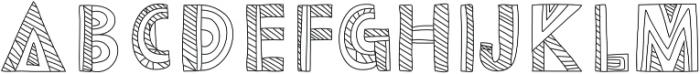 Dazey otf (400) Font LOWERCASE