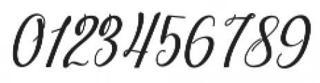 dahlia Script Italic otf (400) Font OTHER CHARS