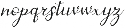 dahlia Script Italic otf (400) Font LOWERCASE