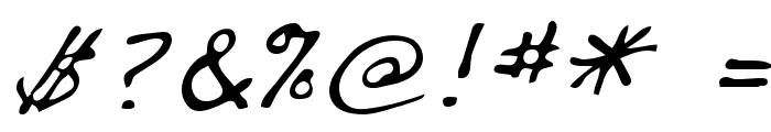 Dakota Regular Font OTHER CHARS