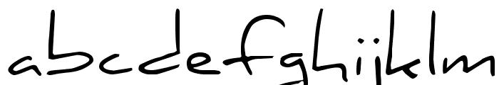 Daniel Regular Font LOWERCASE
