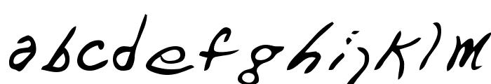 Dart Regular Font LOWERCASE
