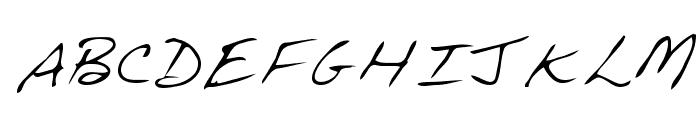Dave Regular Font UPPERCASE