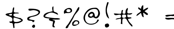 Davis Regular Font OTHER CHARS