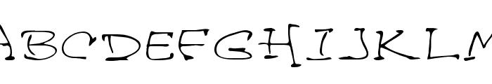 Davis Regular Font UPPERCASE