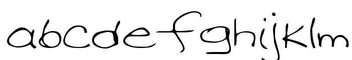 Davis Regular Font LOWERCASE