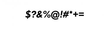 Dado Nova-MediumItalic.otf Font OTHER CHARS