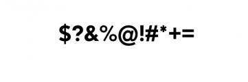 Dado Nova-Medium.otf Font OTHER CHARS