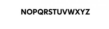 Dado Nova-Medium.otf Font UPPERCASE