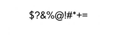 Dado Nova - Regular.otf Font OTHER CHARS