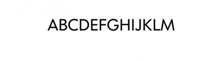 Dado Nova - Regular.otf Font UPPERCASE